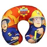 Mgs33 Sam Il Pompiere per Bambini Cuscino da Collo Fireman Sam Cuscino da Viaggio, Vacanze, Auto, Aereo