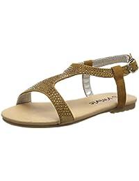 VITIVIC ZP-Sand Chispas Camel, Zapatos Niñas