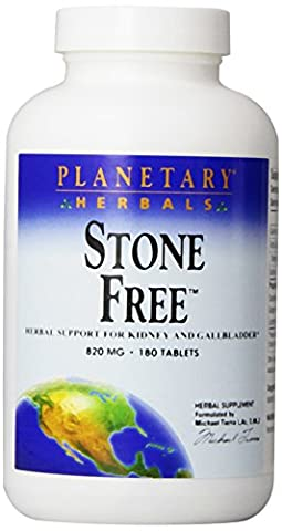 Planetary Herbals Stone Free 820mg, Herbal Support for Kidney and Gallbladder