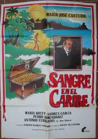 POSTER CINE - Movie Poster : SANGRE EN EL CARIBE - Original