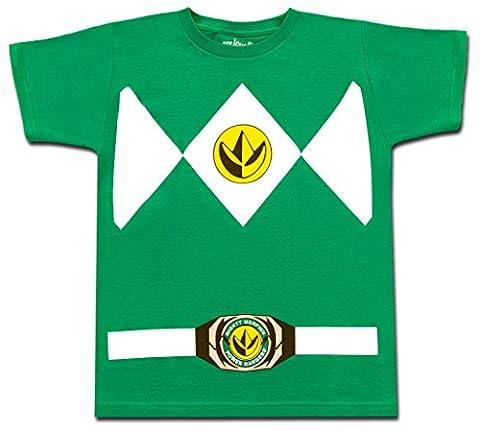 Costumes Power Rangers Garçons - Power Rangers - T-shirt - Garçon vert