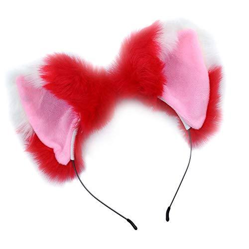 en Stirnband Cosplay Kostüm Velet Kopfdekoration Mädchen Frauen (H) ()