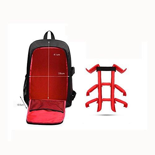 6348e91acb Zaino per fotocamera SLR e accessori Zaini per fotocamera reflex/laptop ,  Red purple ...