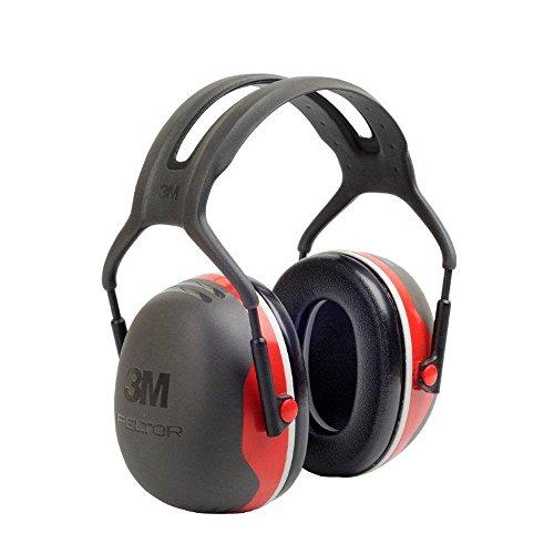 Preisvergleich Produktbild 3M Peltor Kapselgehörschützer, 33dB, Rot,, Kopfband, X3A