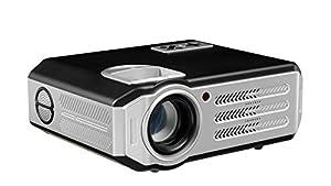 4800 Lumen 1080P 1920 x1080 FULL HD Home Cinéma Multimédia videoprojecteur LED vidéo projecteur videoprojecteur 3D USB VGA HDMI LED Projecteur pour Jeux Films DVD TV Ordinateur Portable iPad Jusqu'à 200