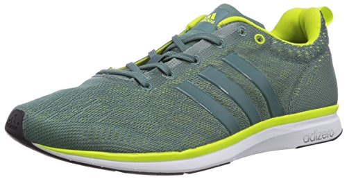 adidas Performance AdiZero Feather 4 Herren Laufschuhe - Green/Blanc