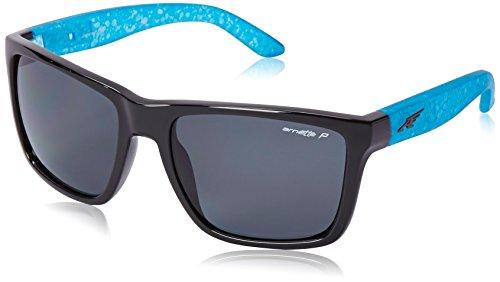 Arnette Herren 0AN4177 216281 59 Sonnenbrille, Schwarz (Black/Polargray),