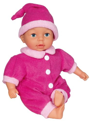Bayer Design 9280201 - My First Baby Puppe, 28 cm, pink