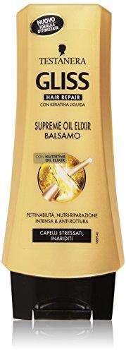 Testanera - Gliss Hair Repair, Balsamo con Nutritive Oil Elixir - 200 ml
