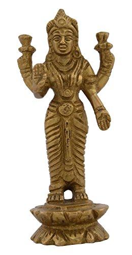 kapasi-artesania-laton-diosa-lakshmi-idol-de-pie-2-x-125-x-425-pulgadas