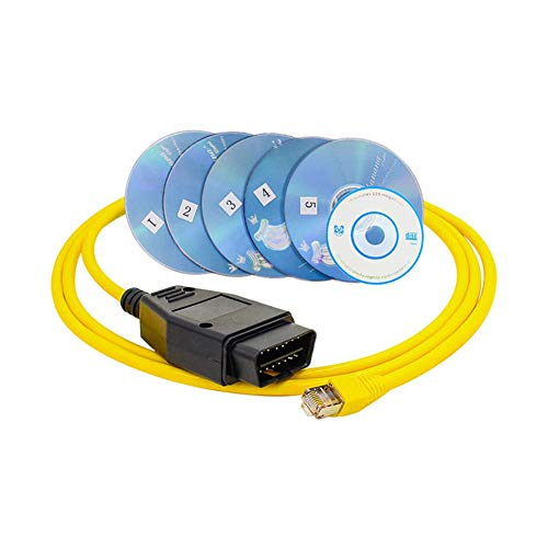 GMTes E-SYS ICOM für BMW ENET (Ethernet to OBD) Interface Cable Coding F-Serie