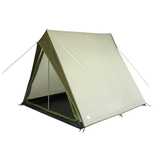 10T Dundas 3 - Tente de randonnée, 3 Places, Double Toit avec Une Cabine de Couchage CE=3000mm