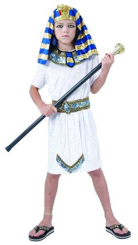 Generique - Ägyptischer Pharao Kostüm für Jungen 110/116 (4-6 Jahre)