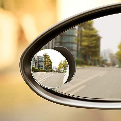 Retrovisores Exteriores para La Imagen Grande Y La Seguridad del Tr/áfico Utopicar Espejos De Punto Ciego 2 Pieza Ajustable