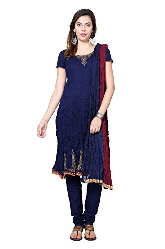 People Navy Regular Fit Ethnic Sets_p10202301419922_s