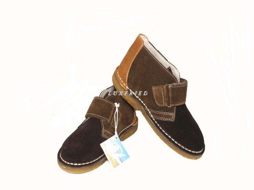 NATURINO Kinderschuhe Jungs Schuhe Halbschuhe Shoe 4201 Braun
