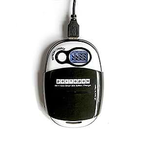 PortaPow USB-Caricatore per Batterie AA + batterie AAA …