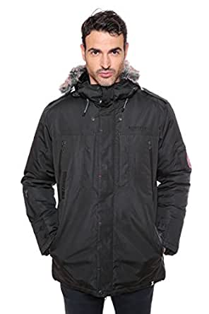 Geographical Norway - Parka Geographical Norway Cluses Noir-Taille - L