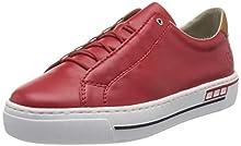 Rieker Frühjahr/Sommer L8834, Sneaker Infilare Donna, Rosso (Rosso/Cayenne/33 33), 40 EU