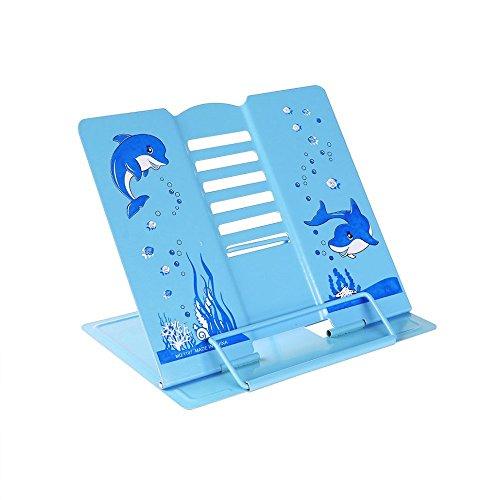 Hand Made Tablet PC Kissen Lesekissen für Buch Buchhalter iPad Ständer Buchkissen (Blau)