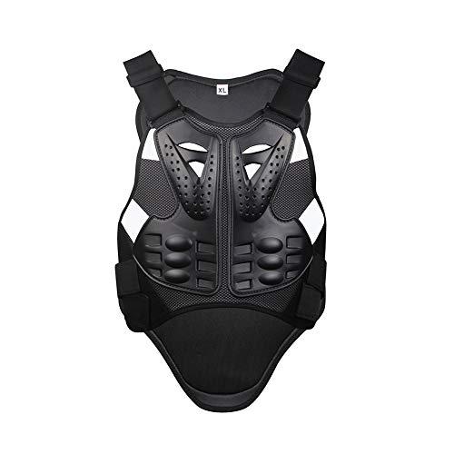 TZTED Damen Herren Rückenprotektor zum Umschnallen Rollschuhlaufen Motorrad zurück Wirbelsäulenschutz Sportschutz Rüstungsweste,XL