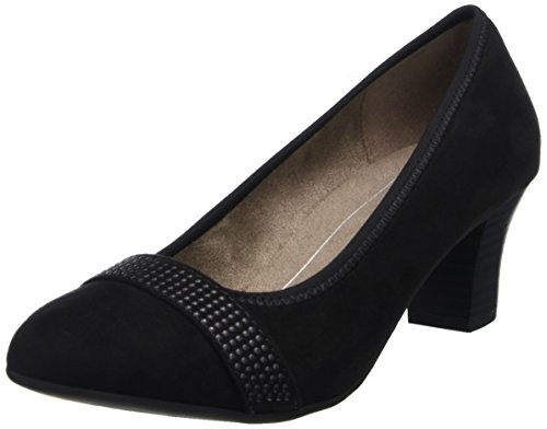 Softline Damen 22474 Pumps, Schwarz (Black), 39 EU