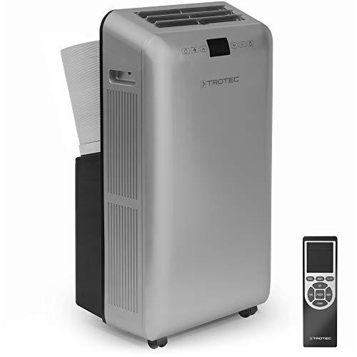 TROTEC Lokale Klimaanlage PAC 3550 Pro mit 3,5 kW (12.000 Btu), EEK A zugfreie Kühlung des Raumes dank Zweischlauchtechnik