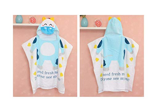 Hooded Kid Towel Thicker Cartoon Modeling Children's Bathrobes Baby Towels, Coated,Luxury Bath Towel Hooded Towel for Kids, Toddlers and Babies Wrap for Swimming Pool, Bath, or Beach 60CMx120CM (Bad Handtücher Ozean)