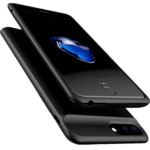 Foto de PADITECH Funda Batería 5000mAh para iPhone8/ iPhone7/ iPhone6/ 6s| Rápido Recargable| Polímero de litio| Ultrathin| Cargador de Batería Portátil| Banco de Potencia Potente Recargable Externo [4.7 Pulgadas]