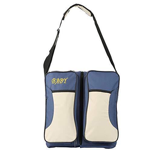 Baby-Reise-Handtasche, faltbare tragbare Krippe Wickeltasche Neugeborenen oder Baby heraus Reisebett(Rosa)
