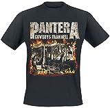 Photo de Générique Pantera Cowboys from Hell - Fire Frame T-Shirt Manches Courtes Noir M par Générique