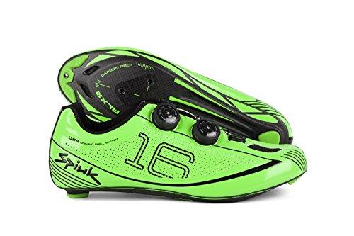 Spiuk 16 Road Carbono - Scarpe unisex, colore Verde