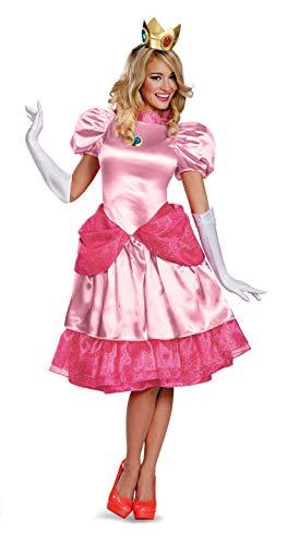 Princess Peach Erwachsene Für Kostüm - Costume Principessa Peach deluxe donna M