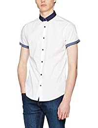 New Look Hopsack, Chemise Casual Homme