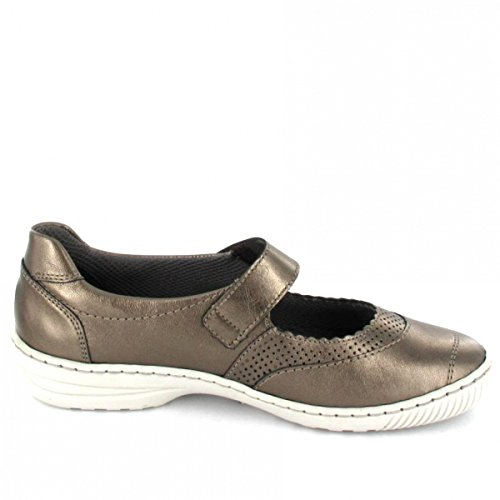 Jenny Rhodos - Pantofole da Donna bronce