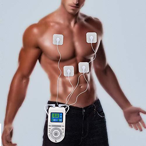 YUOCEAN TENS/EMS Kombi-Gerät, Schmerzlinderung, Muskeltonus und Massage, Fitness Geräte