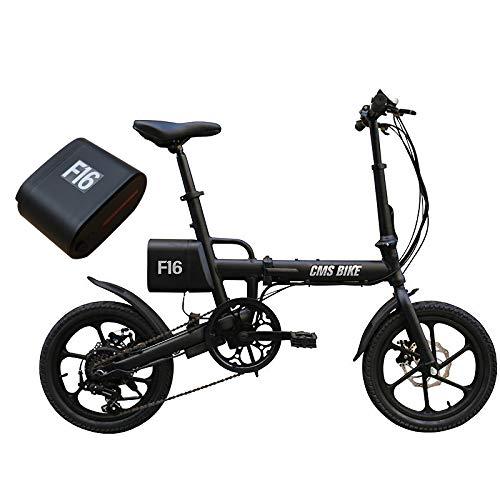 JINXL F16 36V 7.8AH 250W Negro Bicicleta eléctrica