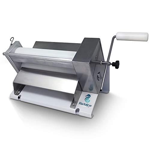 Sfogliafacile MINI Teigausrollmaschine - # 1 Italienische Bäcker Pasta-Teigrollmaschine schafft seidig glatten Teig, Fondant, Modellierung von Schokolade, Pastateig, flockiges oder kleines krokantes Gebäck 0-12mm dick