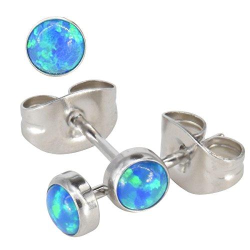 cornflower-blue-synthetic-opal-surgical-steel-stud-earrings-fits-standard-ear-piercing-gauge-07mm