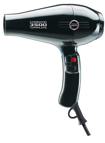 Gamma Piu 3500 Tormalionic Hair Dryer Black by Gamma Piu
