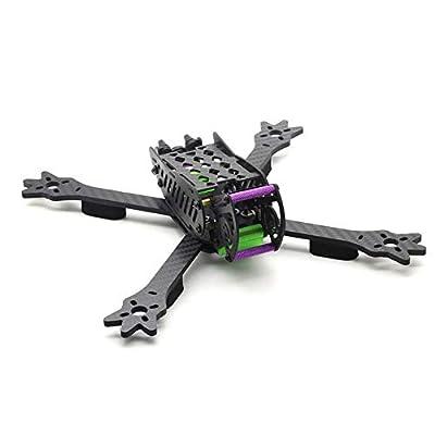 KINGDUO Hskrc Woodpecker 235 235Mm Wheelbase 4Mm Arm 3K Carbon Fiber 5 Inch Racing Frame Kit For Rc Drone