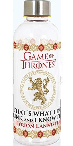 Stor Game of Thronos Bottiglia 850 ml 23 cm Colore Trasparente 19762