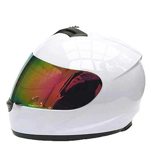 Preisvergleich Produktbild Männer Frauen Universal Integralhelme Winter Warme Vollverkleidung Motocross Helm Farbe Objektiv Uv Schutz Outdoor Mountain Road Motorrad Helm Geschenk