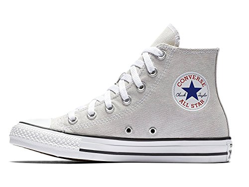 Converse Chuck Taylor All Star Seasonal Colors High Top Shoe Pale Putty Men's Size 9.5/Women's Size 11.5 (Converse Hat Patch)