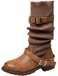 ae9e885536bc3 Amazon.es  es - 2040896031   Botas   Zapatos para mujer  Zapatos y ...