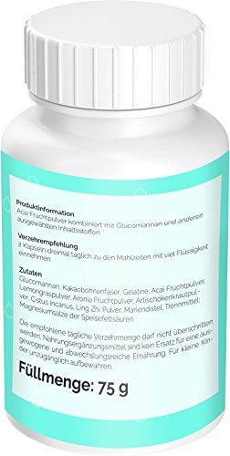3 Drops FBRN, einfach, schnell Abnehmen mit den Fettverbrenner | 120 hochdosierte Kapseln | kein Appetitzügler oder Appetithemmer pillen + Diäten | Hergestellt in Deutschland