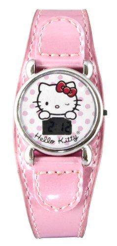 Hello Kitty 25135 - Reloj para niñas de Cuarzo Color Rosa