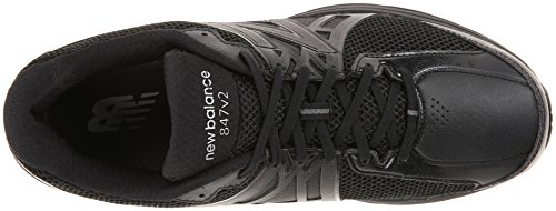 New Balance Men's MW847V2 Walking Shoe Black