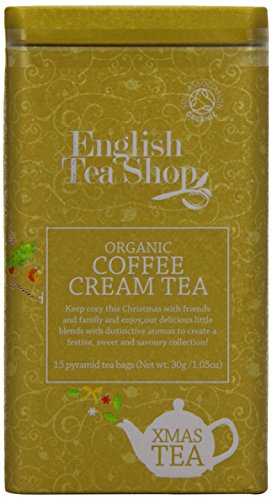 English Tea Shop - Organic Coffee Cream Tea - 30g (Pack of 3)