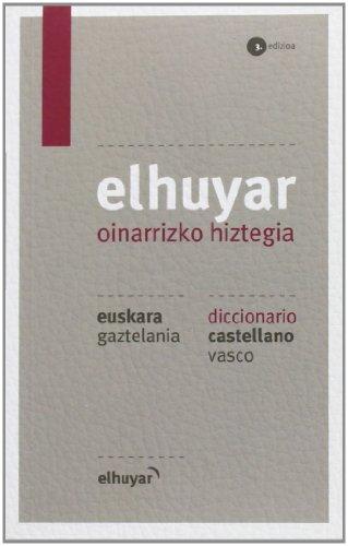Elhuyar Oinarrizko Hiztegia Eus/gaz - Cas/vas (3. Ed.) (Hiztegiak Eta Mapak) por Batzuk